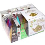 """English Tea Shop – Teegeschenk mit Schleife """"Klassische Tee Kollektion"""", BIO, 12 Pyramiden-Beutel"""
