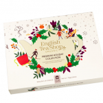 "English Tea Shop – Wintertee-Kollektion in Papierbox ""Weihnachten in Weiß"", BIO, 48 Teebeutel"