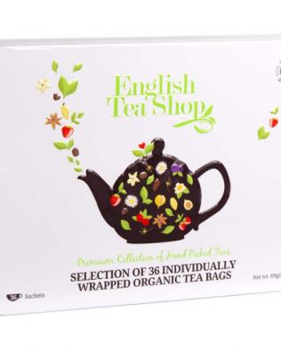 "English Tea Shop – Tee-Geschenkbox aus Metall ""Classic Selection"" mit 36 BIO-Tees"